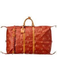 Louis Vuitton Limited Edition Red Lv Cup Coated Canvas Boston Bag