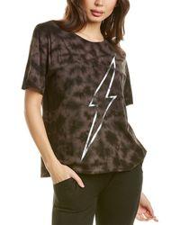 Chrldr Lightning Bolt T-shirt - Black