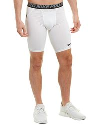 Nike Pro Heist Slider Compression Short - White