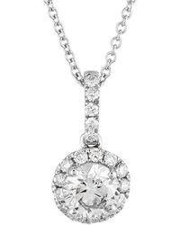 Diana M. Jewels - Bridal Collection 14k 0.95 Ct. Tw. Diamond Necklace - Lyst