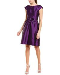 Alfred Sung Cocktail Dress - Purple