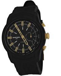 DIESEL Men's Armbar Hybrid Watch - Black