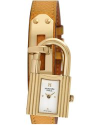 Hermès Hermes 2000s Women's Kelly Lock Watch - Metallic