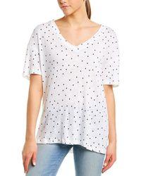 Stateside Polka Dot T-shirt - White