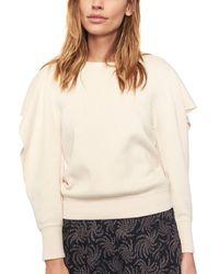 Ba&sh Doman Wool-blend Jumper - Natural