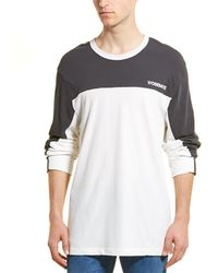 James Perse Colorblocked Motocross T-shirt - White