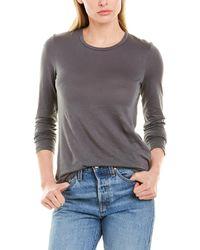 Stateside Crewneck T-shirt - Grey