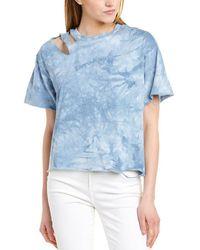 Dance & Marvel Distressed T-shirt - Blue