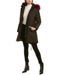 Mackage Rena D Leather-trim Down Parka - Black
