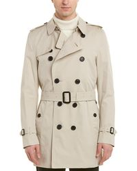 Burberry - Kensington Mid-length Heritage Trench Coat - Lyst