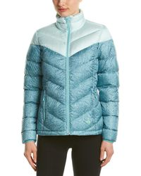 Mountain Hardwear Ratio Printed Down Jacket - Blue
