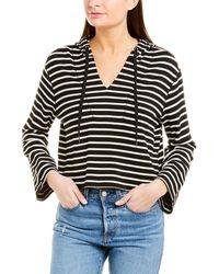Splendid Hoodie Pullover Jumper Sweatshirt - Black