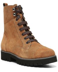 Donald J Pliner Ease Leather Bootie - Brown
