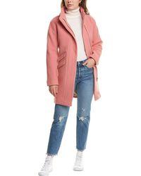 J.Crew Wool-blend Cocoon Coat - Pink