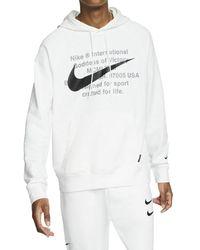 Nike Sportswear Swoosh Hoodie - White