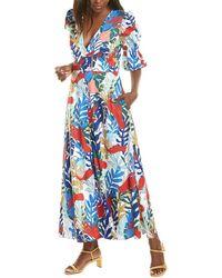 Hutch Maxine A-line Dress - White