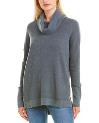 Forte Easy Rib Cashmere-blend Sweater - Gray