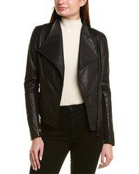 Mackage Pina Leather Jacket - Black