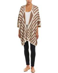 NYDJ - Jacquard Wool-blend Cape - Lyst