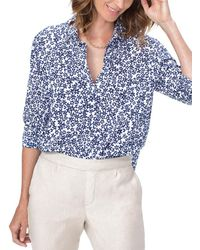 NYDJ Classic Shirt - Blue