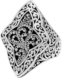 Lois Hill - Silver Ring - Lyst