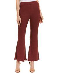 Rachel Pally Bell Bottom Pant - Red