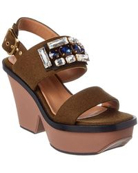 Marni - Wedge Sandal - Lyst