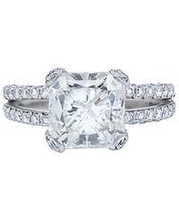 Diana M. Jewels - . Fine Jewelry 18k 17.98 Ct. Tw. Diamond Bangle - Lyst