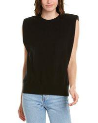 Ronny Kobo Jaitlin Wool & Cashmere-blend Sweater - Black
