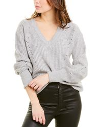 10 Crosby Derek Lam Wool & Cashmere-blend Sweater - Gray