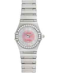 Omega Omega 1990s Women's Constellation Diamond Watch - Metallic