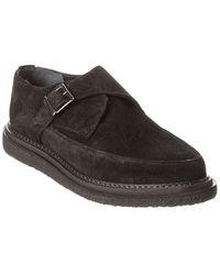 AllSaints Allsaints Rollin Suede Loafer - Black