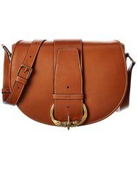 Celine Camarat Medium Leather Shoulder Bag - Brown