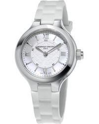 Frederique Constant - Women's Rubber Watch - Lyst