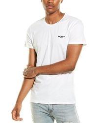 Balmain Logo T-shirt - White