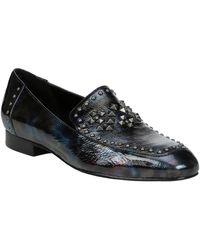 Donald J Pliner Lukas Patent Loafer - Black