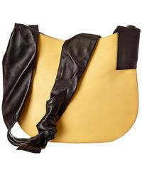 Céline - Céline Large Ribbon Leather Shoulder Bag - Lyst