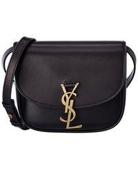 Saint Laurent - Kaia Leather Crossbody - Lyst