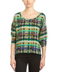 Plenty by Tracy Reese - Crinkle Crepe Pullover - Lyst