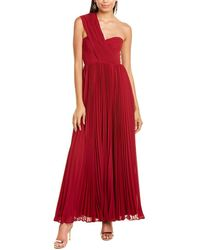 Fame & Partners The Morella Gown - Red