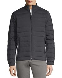J.Lindeberg - Golf M Steve Stretch Down Channeled Puffer Jacket - Lyst
