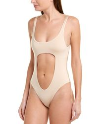 Monica Hansen That Sporty Vibe One-piece - Natural