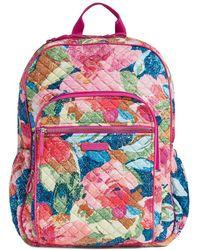Vera Bradley Iconic Campus Backpack - Multicolour