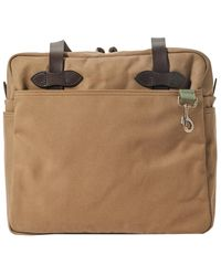 Filson Today's Fix Rugged Twill Tote - Brown