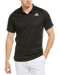 adidas Freelift Polo Shirt - Black