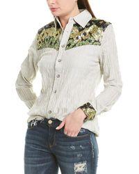 Etienne Marcel Sequin Woven Shirt - Multicolour