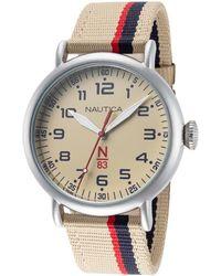 Nautica Unisex Wakeland Watch - Metallic