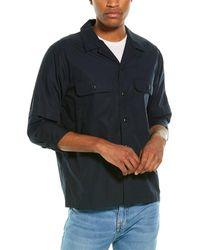 Vince Shirt Jacket - Blue