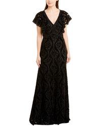 ML Monique Lhuillier Gown - Black