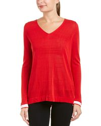 NYDJ Two-fer Sweater - Red